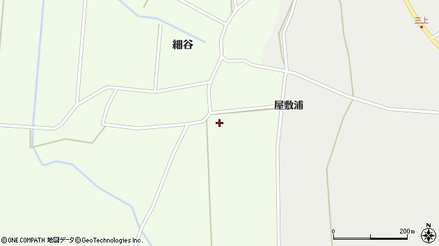 山形県上山市細谷上原766周辺の地図