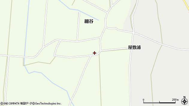 山形県上山市細谷277周辺の地図