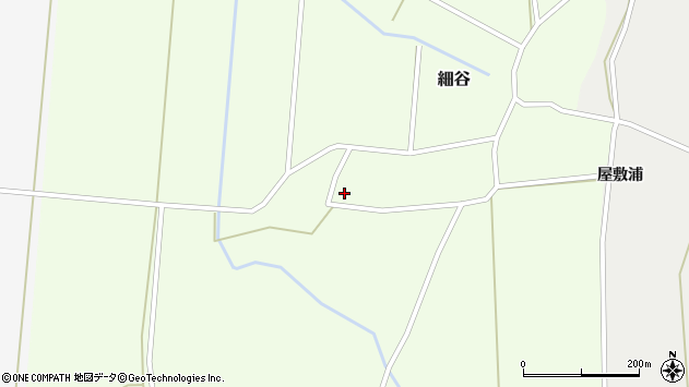 山形県上山市細谷816周辺の地図