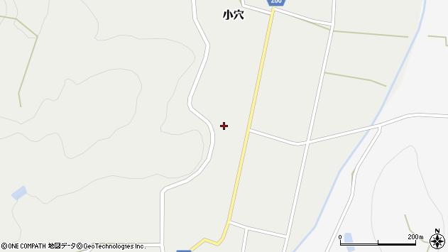 山形県上山市小穴32周辺の地図