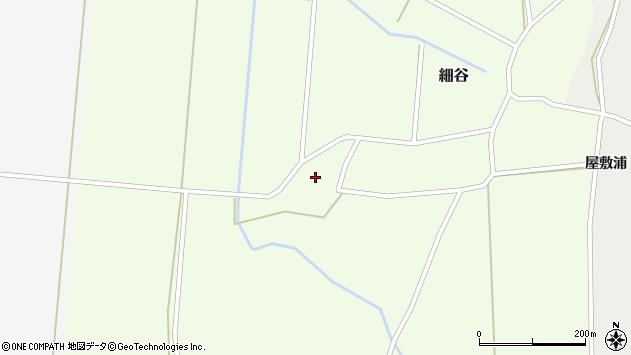 山形県上山市細谷701周辺の地図