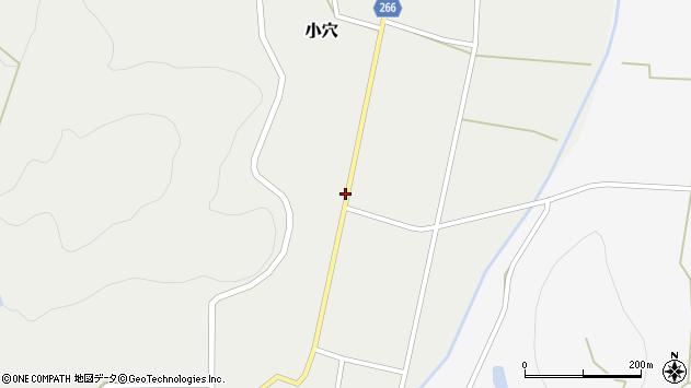 山形県上山市小穴辻周辺の地図