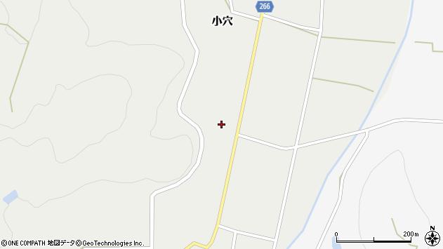 山形県上山市小穴34周辺の地図