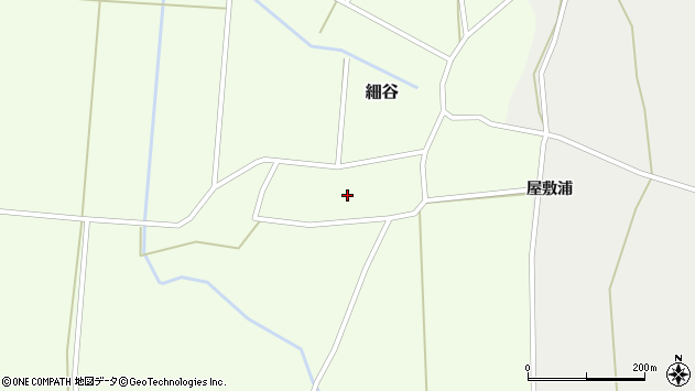 山形県上山市細谷1周辺の地図