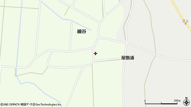 山形県上山市細谷7周辺の地図