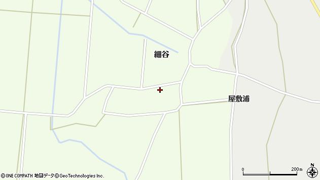 山形県上山市細谷3周辺の地図