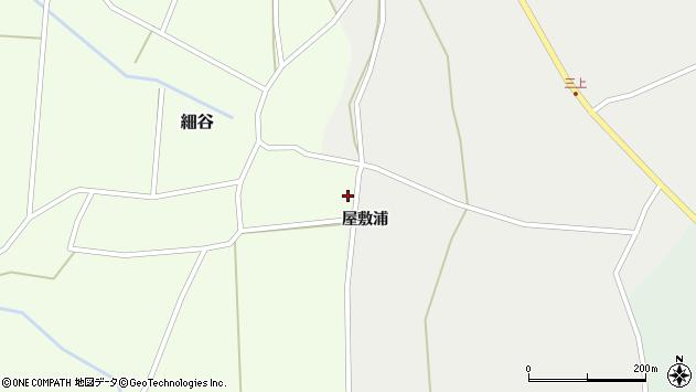 山形県上山市細谷222周辺の地図