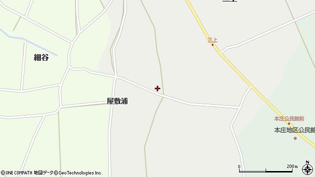 山形県上山市三上888周辺の地図