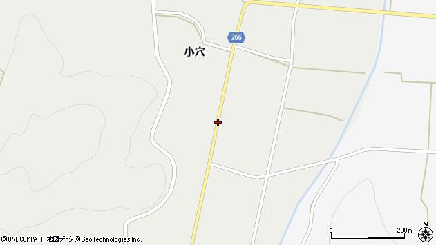 山形県上山市小穴43周辺の地図