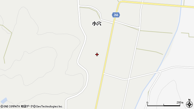 山形県上山市小穴41周辺の地図