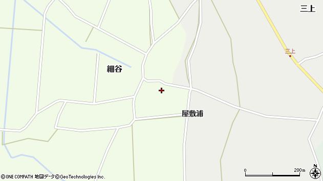 山形県上山市細谷12周辺の地図