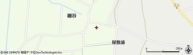 山形県上山市細谷10周辺の地図