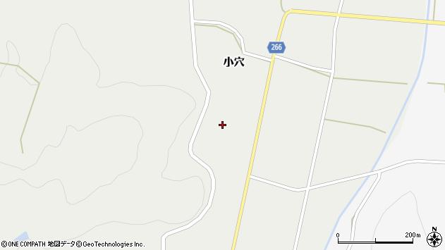 山形県上山市小穴42周辺の地図