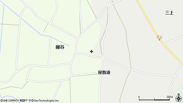 山形県上山市細谷217周辺の地図
