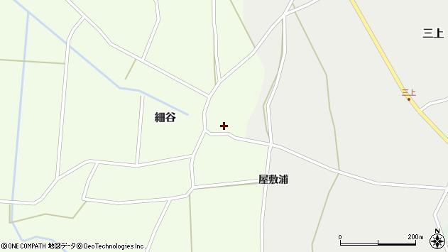 山形県上山市細谷15周辺の地図