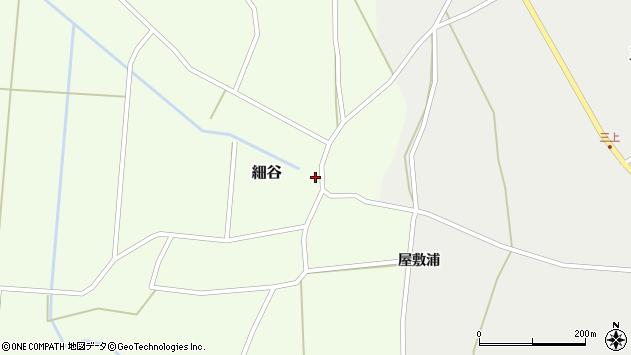 山形県上山市細谷17周辺の地図