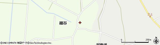 山形県上山市細谷16周辺の地図
