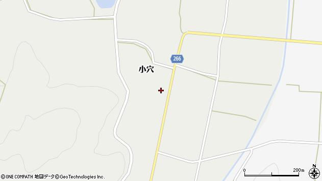 山形県上山市小穴59周辺の地図