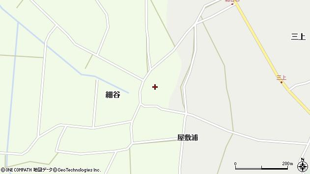 山形県上山市細谷4周辺の地図