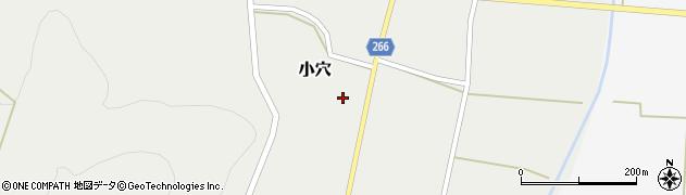 山形県上山市小穴61周辺の地図