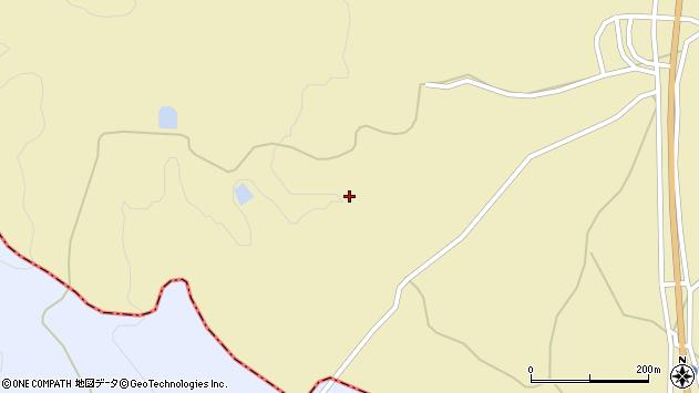 山形県上山市中山栗柄山参周辺の地図