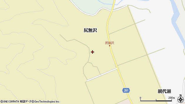 山形県西置賜郡小国町尻無沢302周辺の地図