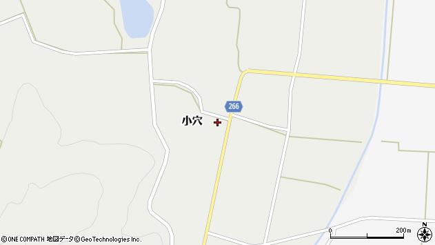 山形県上山市小穴71周辺の地図