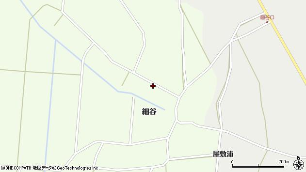 山形県上山市細谷24周辺の地図