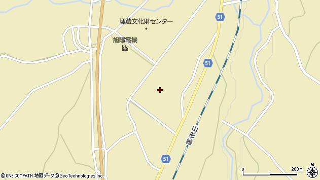 山形県上山市中山和江山5313周辺の地図