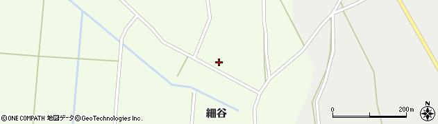 山形県上山市細谷67周辺の地図