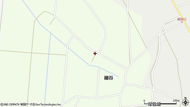 山形県上山市細谷29周辺の地図