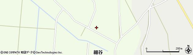 山形県上山市細谷66周辺の地図