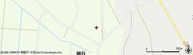 山形県上山市細谷25周辺の地図
