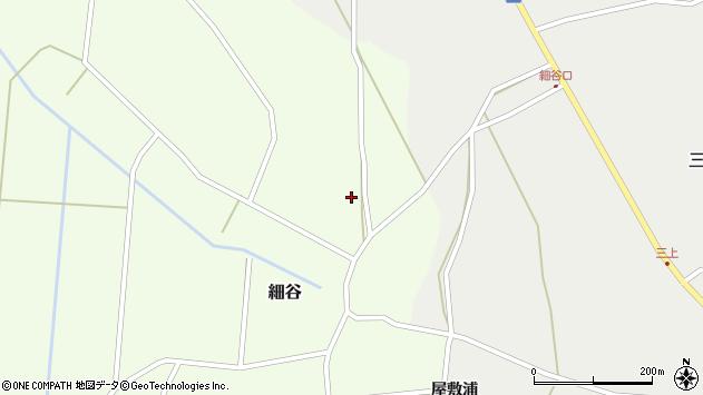 山形県上山市細谷79周辺の地図