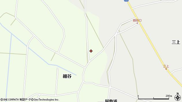 山形県上山市細谷210周辺の地図