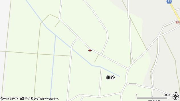 山形県上山市細谷31周辺の地図