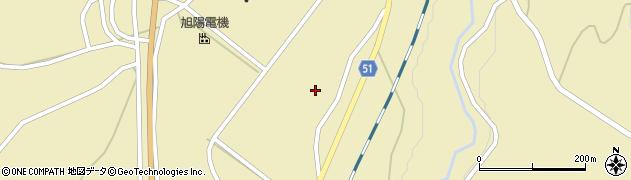 山形県上山市中山揚橋1428周辺の地図