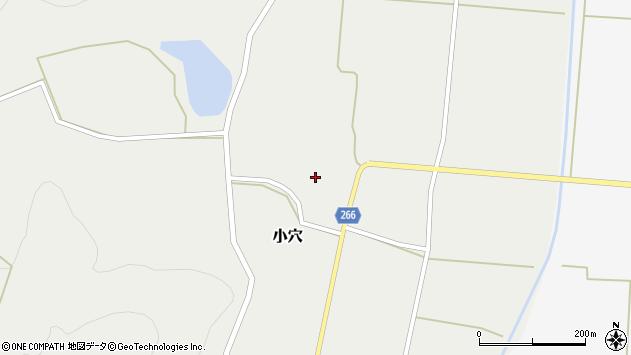 山形県上山市小穴81周辺の地図