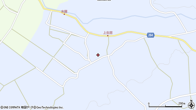 山形県上山市上生居46周辺の地図