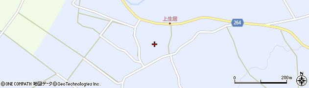 山形県上山市上生居56周辺の地図