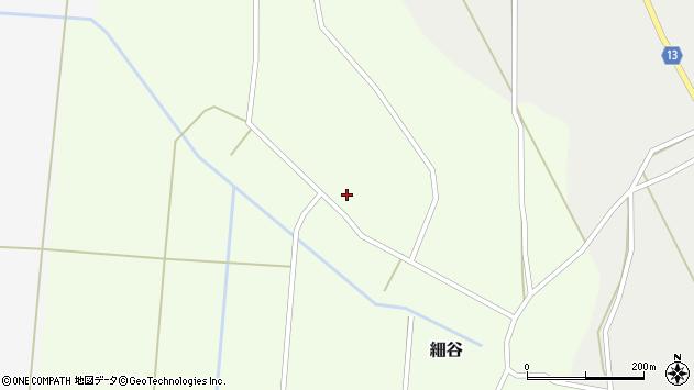 山形県上山市細谷56周辺の地図