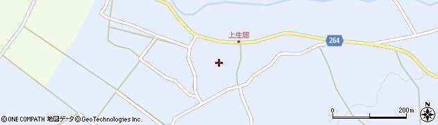 山形県上山市上生居59周辺の地図