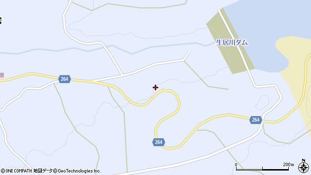 山形県上山市上生居907周辺の地図
