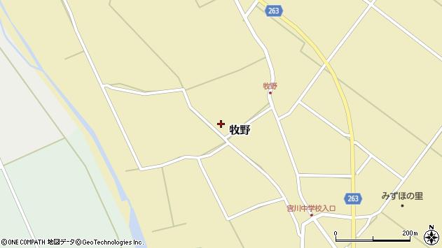 山形県上山市牧野1354周辺の地図