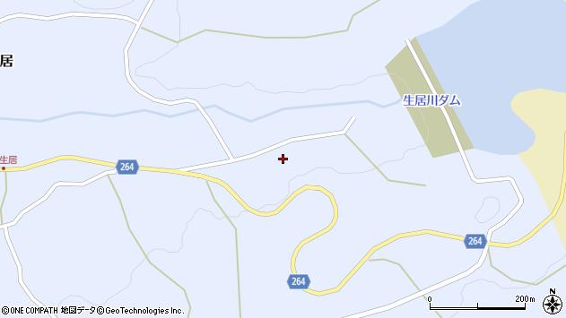 山形県上山市上生居1039周辺の地図