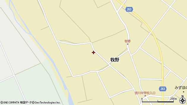 山形県上山市牧野1378周辺の地図