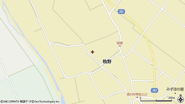 山形県上山市牧野1337周辺の地図
