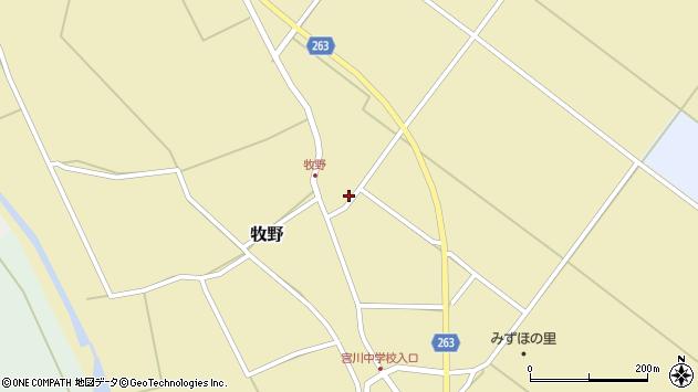 山形県上山市牧野1347周辺の地図