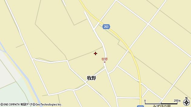 山形県上山市牧野1272周辺の地図
