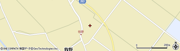 山形県上山市牧野2488周辺の地図